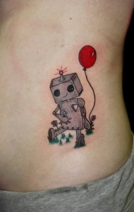 Images of Robot Tattoo