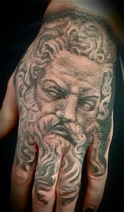 Images of Zeus Tattoo
