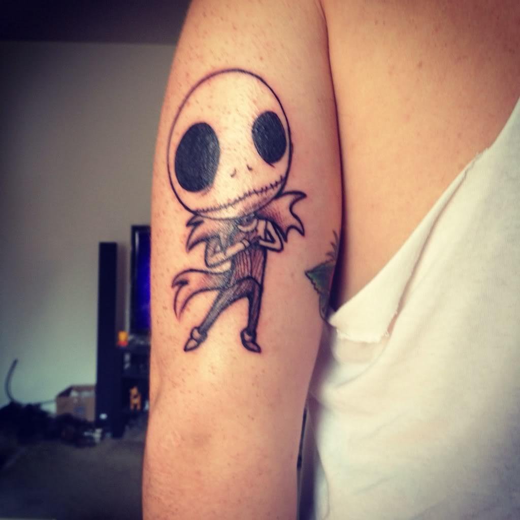 Jack Skellington Tattoos Designs, Ideas And Meaning