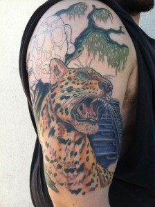 Jaguar Tattoo Sleeve