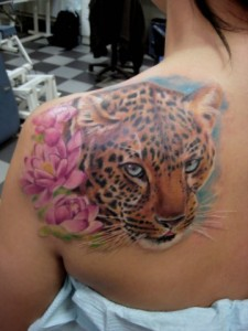 Jaguar Tattoos for Women