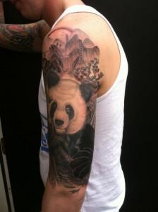Japanese Panda Tattoo