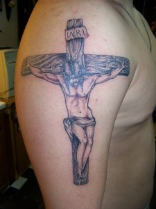 Jesus Crucifix Tattoo