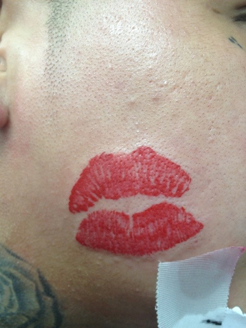 kiss tattoos designs ideas and meaning tattoos for you