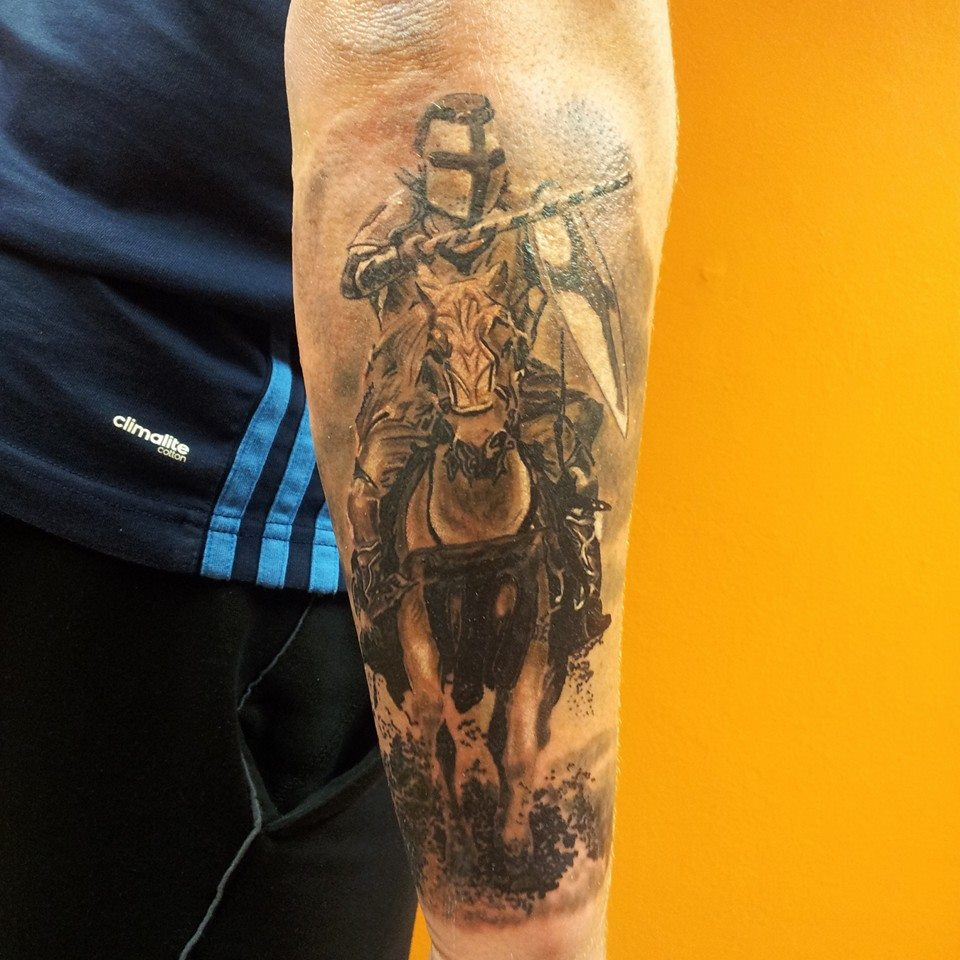 Knight Tattoos Designs, Ideas and Meaning | Tattoos For You