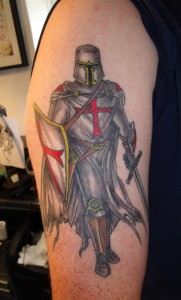 Knight Tattoo Images