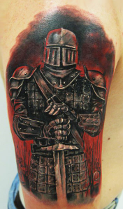 Knight Tattoos Pictures