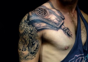 Knights Armor Tattoo