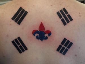 Korean Symbols tattoos