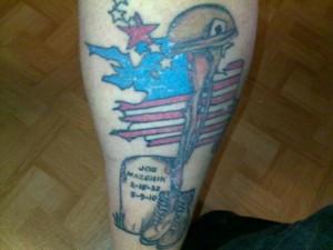 Korean War Tattoos