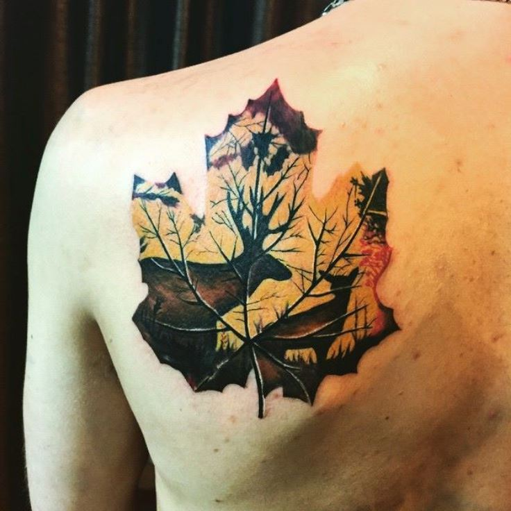 Leaf Tattoos Designs Ideas And Meaning Tattoos For You