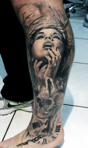 Leg Sleeve Tattoos for Guys