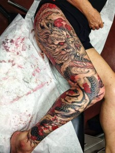 Leg Tattoo Sleeves