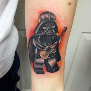 Lego Darth Vader Tattoo
