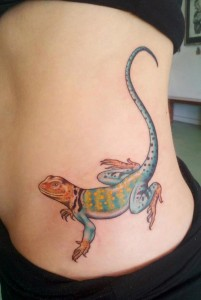 Lizard Tattoos Pictures