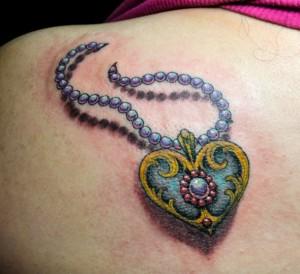 Locket Tattoo Ideas