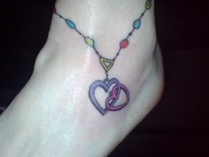 Locket Tattoos for Women