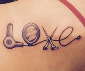 Love Cosmetology Tattoos