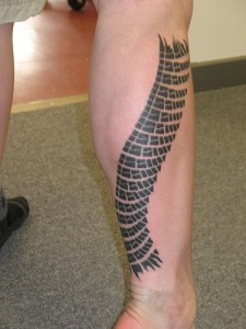 Lower Leg Tattoo Sleeve