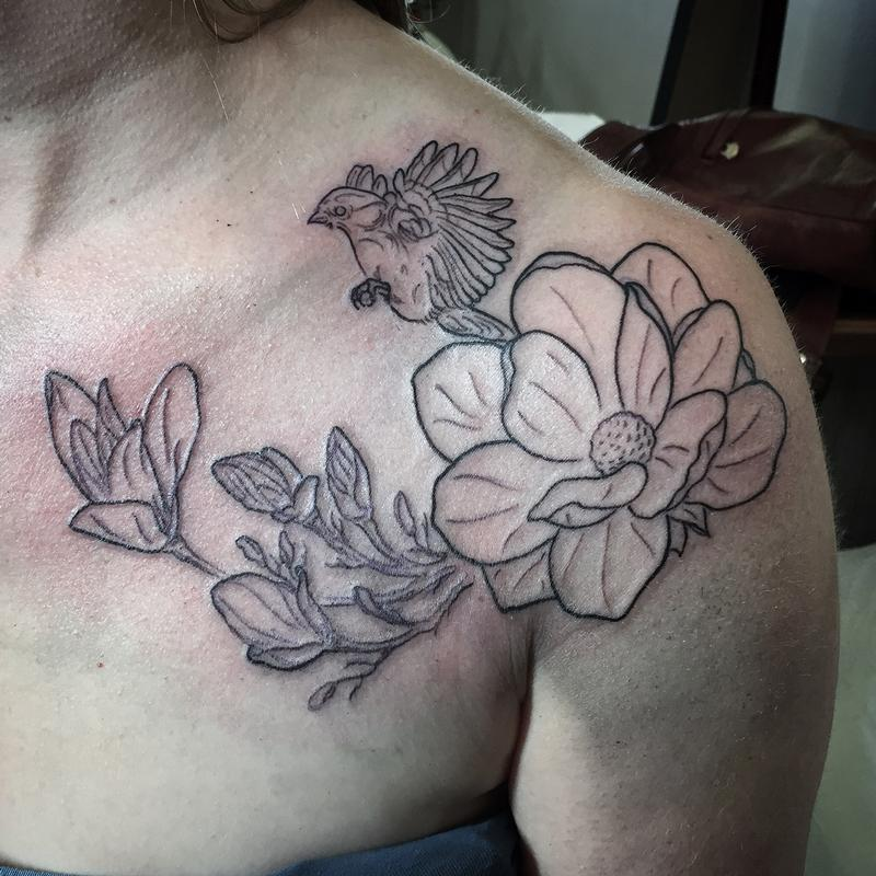 Magnolia Tattoos Designs Ideas And Meaning For You