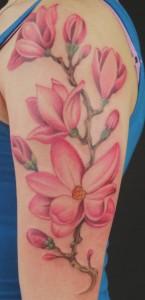 Magnolia Tattoo