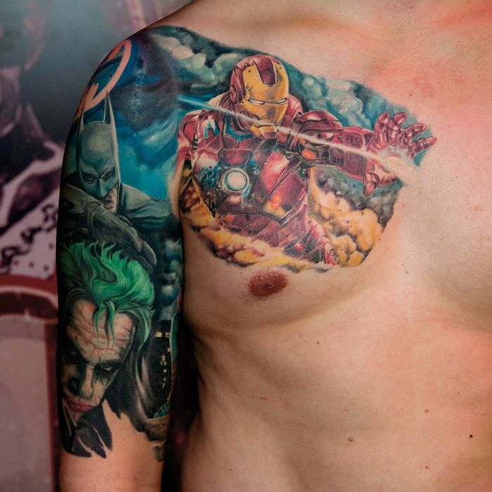 Marvel Tattoos Desig