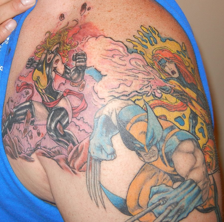 Tattoo Ideas Images: Marvel Tattoos Designs, Ideas And Meaning