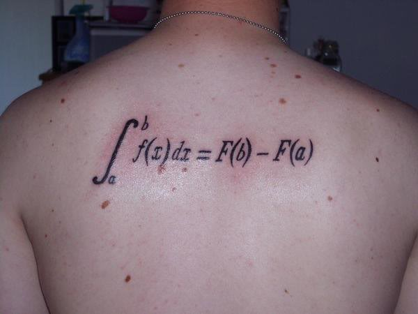 math tattoos designs  ideas and meaning