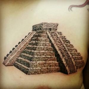 Mayan Pyramid Tattoos