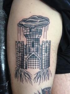 Medieval Castle Tattoos