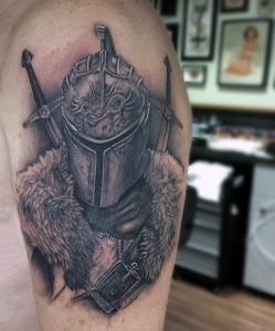 Medieval Knight Tattoos