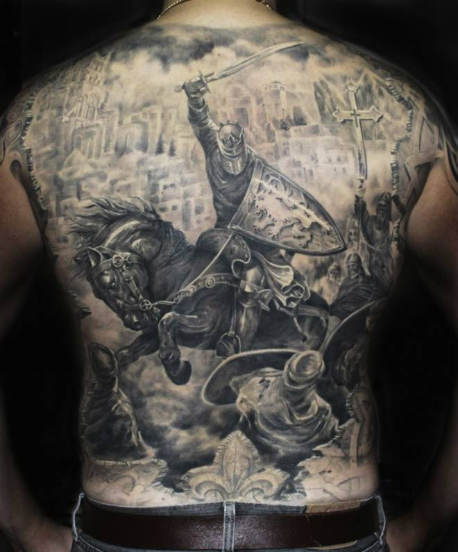 Tattooz Designs Back Tattoos: Medieval Tattoos Designs, Ideas And Meaning
