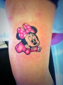Minnie Mouse Tattoo