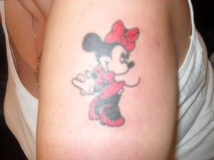 Minnie Mouse Tattoo Ideas