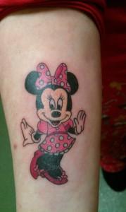 Minnie Mouse Tattoos