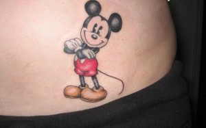 Minnie Mouse Tattoos for Girls