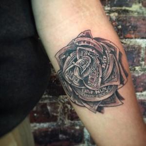 Money Roses Tattoos