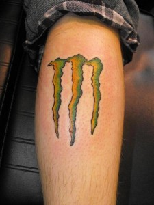 Monster Logo Tattoo