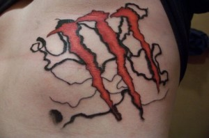 Monster Symbol Tattoos