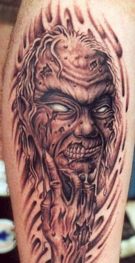 monster tattoos designs ideas and meaning tattoos for you