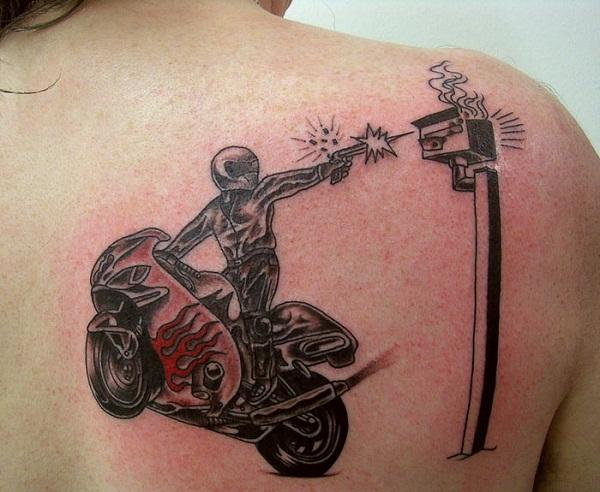 Motorcycle Tattoos Des...