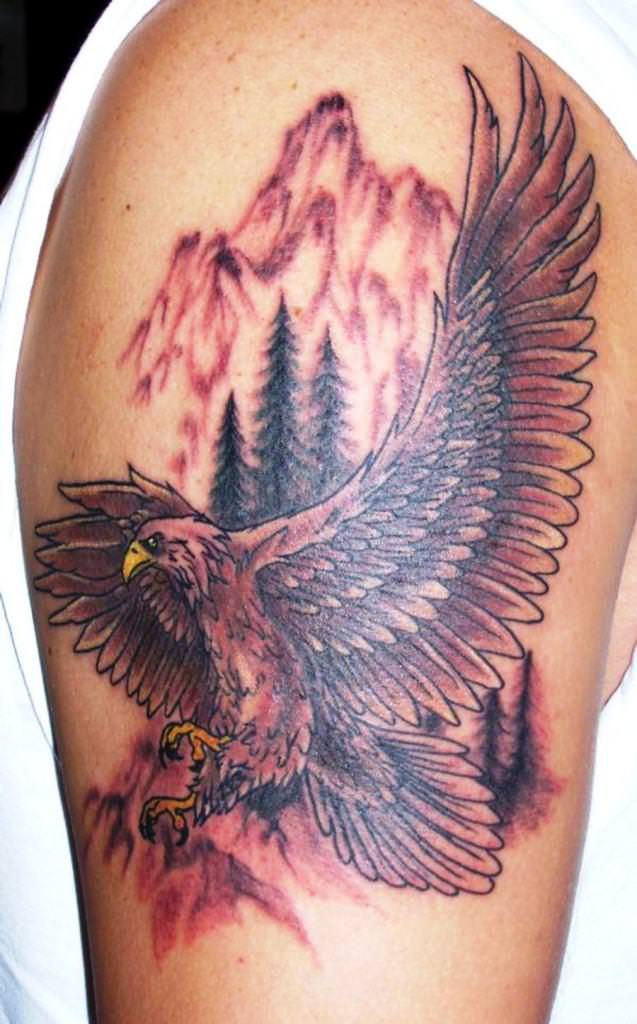 american eagle tattoos designs ideas and meaning tattoos for you. Black Bedroom Furniture Sets. Home Design Ideas