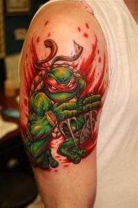 Ninja Turtle Tattoos