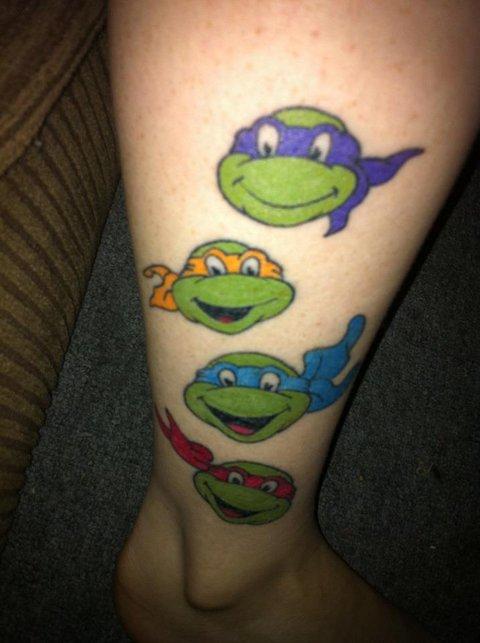 Ninja Turtle Tattoos Designs, Ideas and Meaning | Tattoos ...