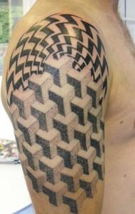 Optical Illusion Tattoos Images
