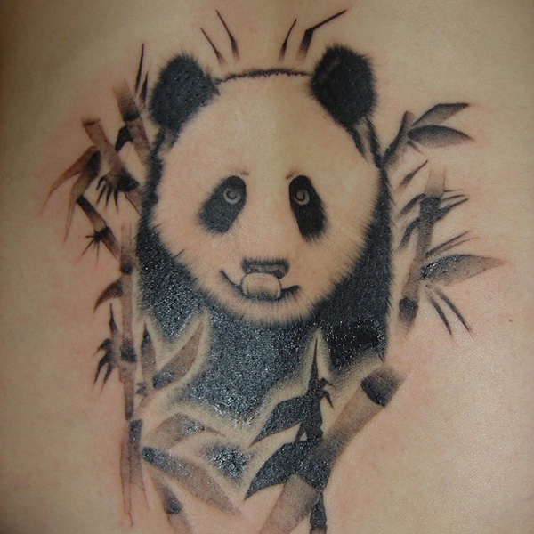 panda tattoos designs ideas and meaning tattoos for you. Black Bedroom Furniture Sets. Home Design Ideas