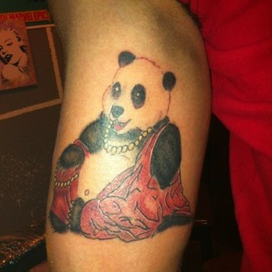 Panda Sleeve Tattoo