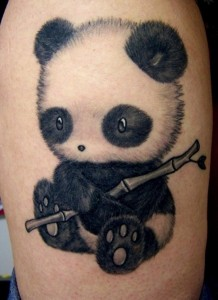 Panda Tattoo Designs