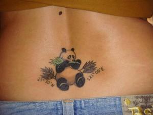 Panda Tattoo Girl