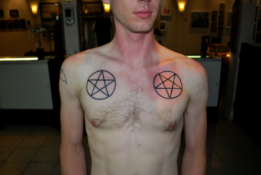 Pentagram Tattoos Designs Ideas And Meaning Tattoos For You